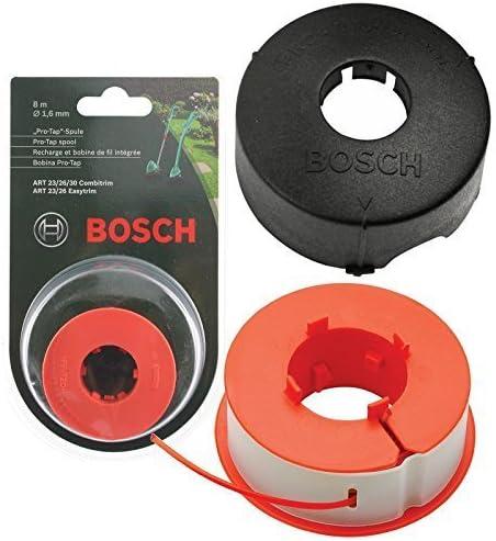8m, F016L71088 + F016800175 Regolatore dellerba Rubinetto Pro-per Linea Automatica Spool Originali Bosch ART 23 26 30 COMBITRIM EASYTRIM Strimmer Copertina