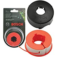 Originele Bosch KUNST 23 26 30 COMBITRIM EASYTRIM bosmaaier/Gras Trimmer Pro-Tap automatische spoel lijn + afdekking (8m…