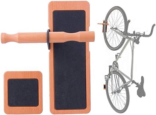 Soporte de pared para bicicleta, soporte de pared vertical para bicicleta, soporte de pared para colgar en la pared de la bicicleta: Amazon.es: Hogar
