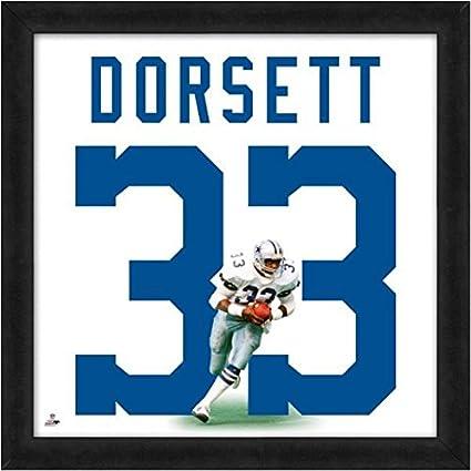 61d28a88f65 Amazon.com: Dallas Cowboys Tony Dorsett Players Jersey Uniframe ...