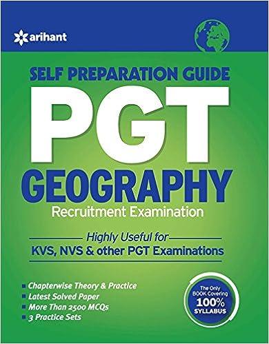 KVS PGT Geography Self Prepration Gudie