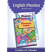 English Alphabet Phonics Books for Kids and Babies | 2 to 5 Year Old | Picture Book with Introduction to various Alphabet Sounds | Learn to Read and Write Two and Three Letter Words with Activities | Set of 2 Books