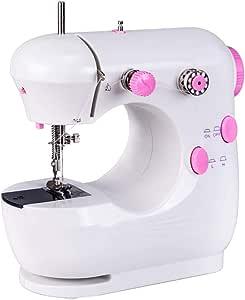 Máquina de coser para uso doméstico Mini-Gap eléctrica pequeña ...