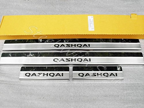 Door sill lining / Chrome cover / Scuff plate for NISSAN QASHQAI (J10) 20072013