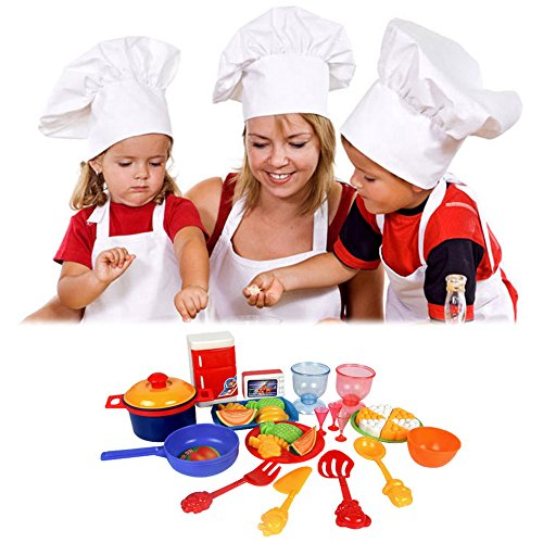 ttnight-31pcs-colorful-toddlers-baby-play-food-dishes-set-toy-kitchen-accessories-plastic-pots-pans-