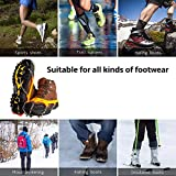 EJEAS Ice Cleats Crampons Traction Snow Grips