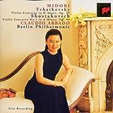 Tchaikovsky: Violin Concerto in D Major / Shostakovich: Violin Concerto No. 1 ~ Midori