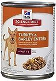 Hill'S Science Diet Adult Wet Dog Food, Turkey & Barley Entrée Canned Dog Food, 13 Oz, 12 Pack Review