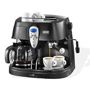 BEEM Germany Café Joy V2 - Cafetera (Independiente, Negro, Goteo, De café molido, Café con leche, Capuchino, Café, 1,25L)