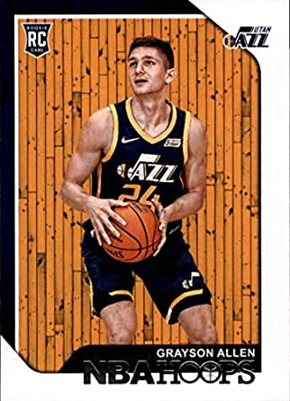 2018-19 Panini Hoops Red Backs #247 Grayson Allen Utah Jazz RC Rookie NBA