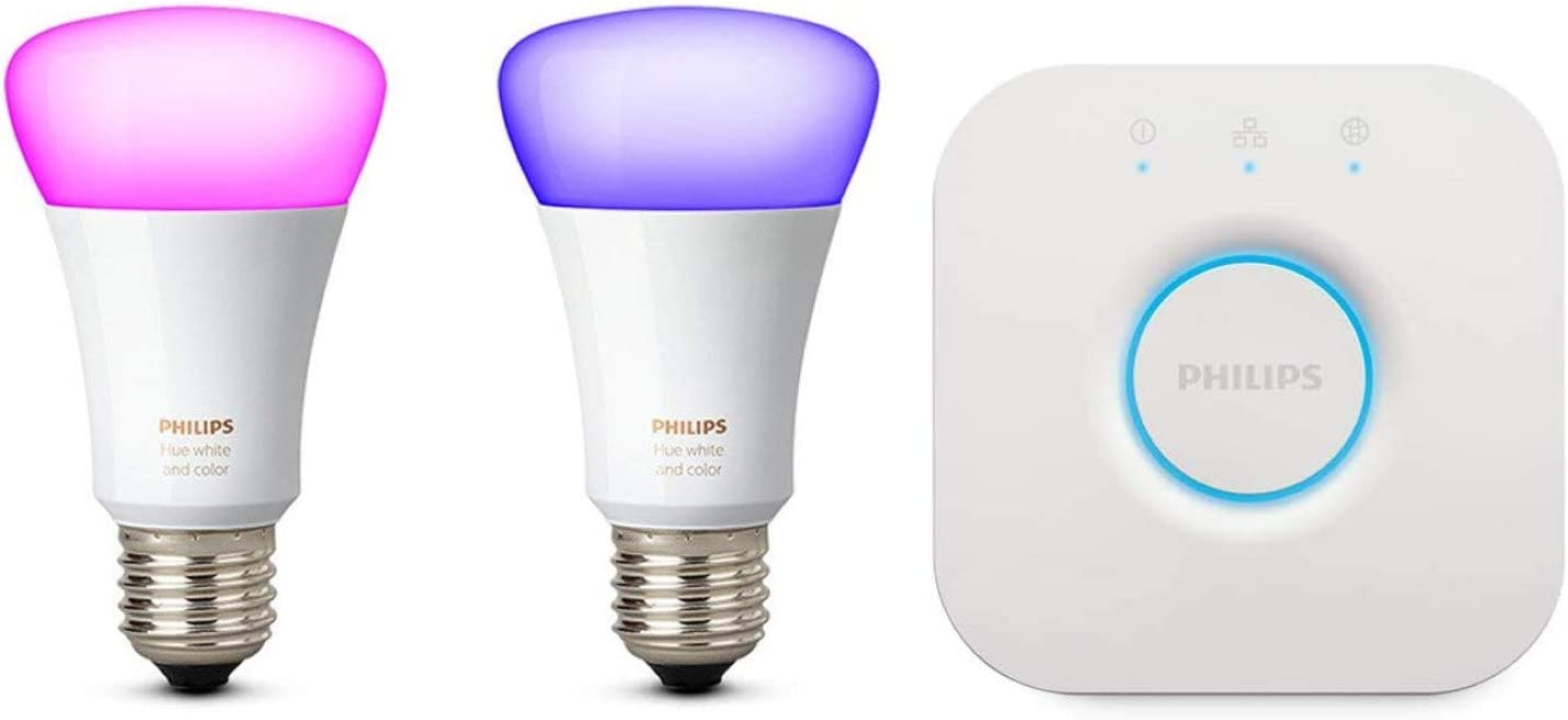 Philips Hue White und Color Ambiance E27 LED Lampe Starter Set - Philips Hue Deckenleuchte