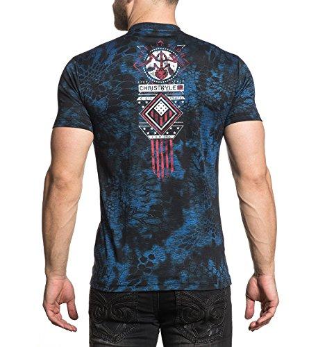 Calibré shirt Graphique Ck T Homme Pour Affliction qxwFvF