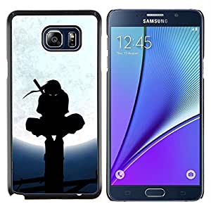 LECELL--Funda protectora / Cubierta / Piel For Samsung Galaxy Note 5 5th N9200 -- Samurai Ninja Warrior --