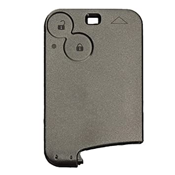 Pro-plip - Funda para tarjeta-llave de Renault Laguna Vel Satis, 2 botones, sin hoja – Carcasa Jongo