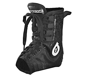 six six one Race Brace Pro Ankle Support (Black, Large)