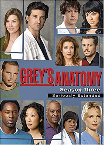 Grey's Anatomy: Season 3 (Greys Anatomy Dvd Seasons)