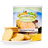 Saratoga Farms Pilot Bread Crackers, #10 can, 70 total servings/can (1 cracker/serving-12 grams) (1)