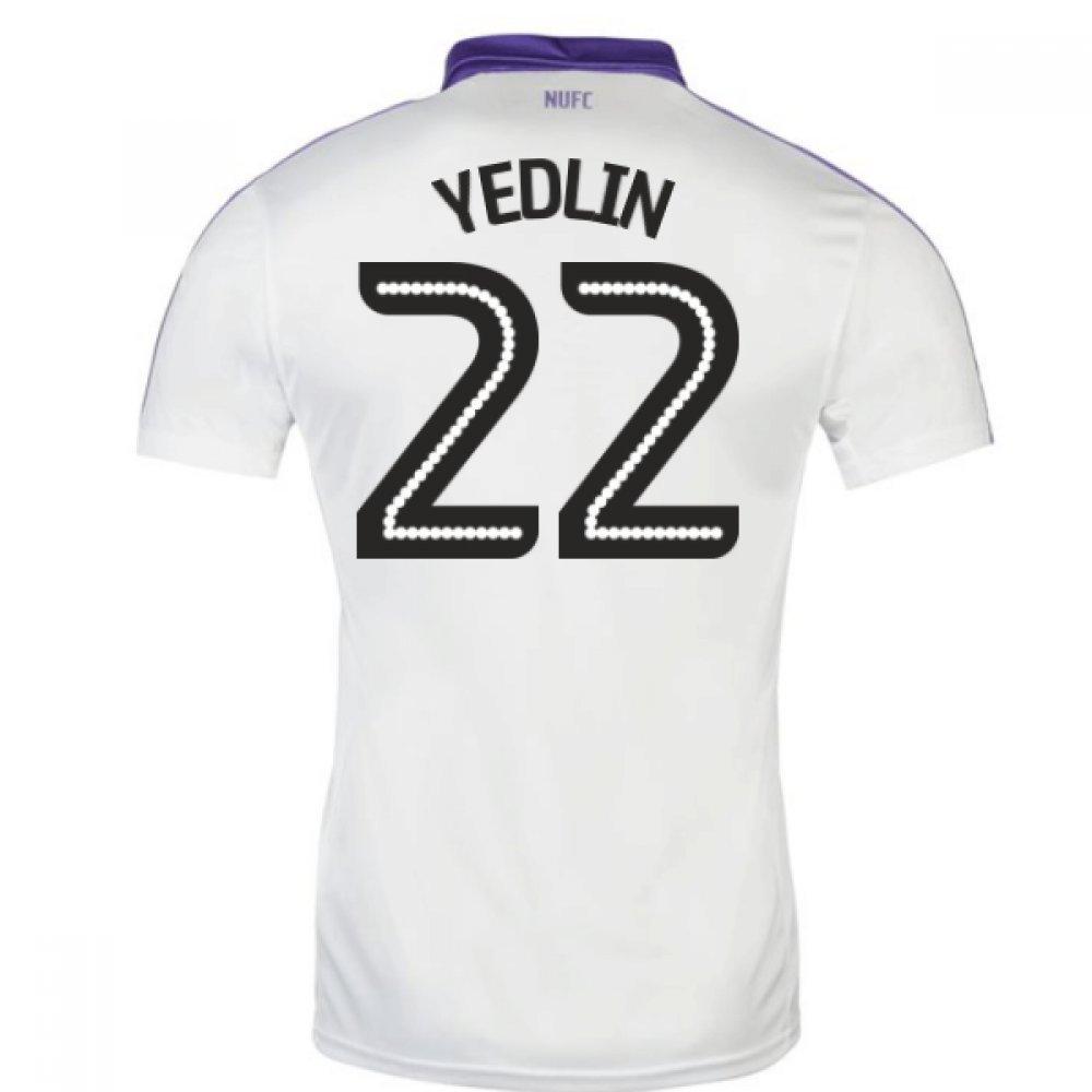 2016-17 Newcastle Third Football Soccer T-Shirt Trikot (Deandre Yedlin 22)