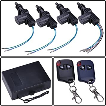 Amazon Com Megabrand 4 Door Power Lock Conversion Kit W 2 Keyless