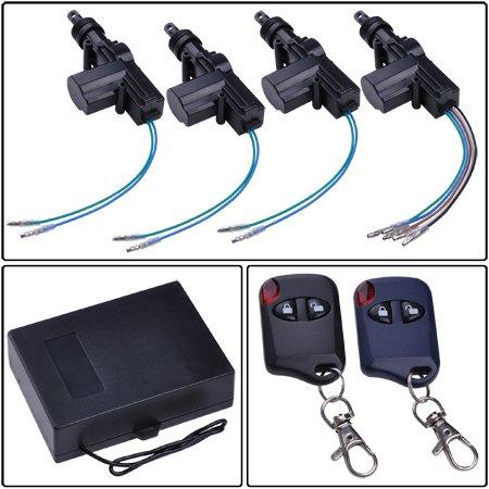 Amazon Megabrand 4 Door Power Lock Conversion Kit W 2 Keyless