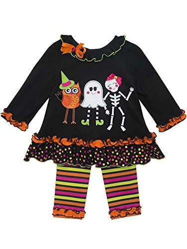 Rare Editions Little Girls' Dancing Ghost Halloween Pant