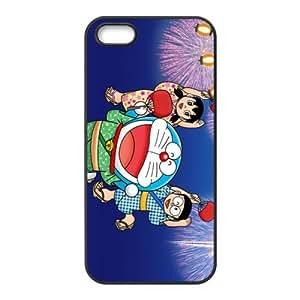 Case for iPhone 5s,Cover for iPhone 5s,Case for iPhone 5,Hard Case for iPhone 5s,Cover for iPhone 5,Doraemon Design TPU Hard Case for Apple iPhone 5 5S