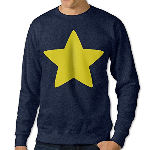 JXMD Men's Steven Cool Star Crewneck Hooded Sweatshirt Navy Size - Bans Ray Wiki