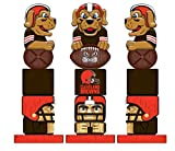 Team Sports America NFL Cleveland Browns Tiki Totem