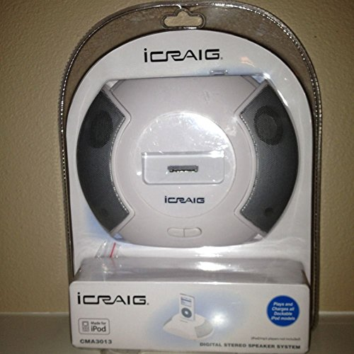 Craig Electronics IPOD SPEAKER SYSTEM WITH UNIVERSAL DOCK from ...