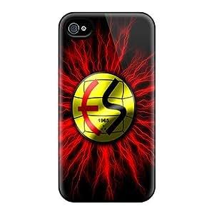 Unique Design Iphone 4/4s Durable Tpu Case Cover Eskisehirspor