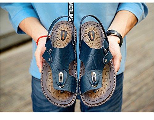 Antideslizante Playa Zapatillas Verano Zapatos Insun Hombre Azul De Temporada Sandalias De 7CXwxaqA
