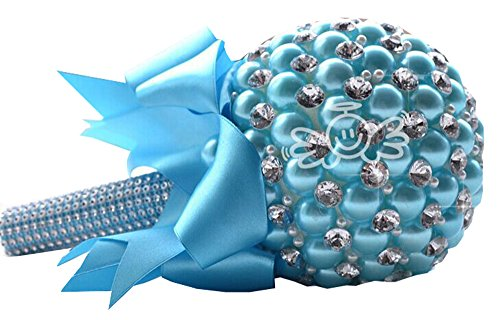 Jackcsale Luxury Pearls Wedding Bouquet Bridal Bouquet Bridesmaid Bouquet