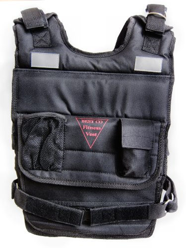 New Weighted Vest 100 Lbs. Fitness Vest by BESTCO PRODUCTS
