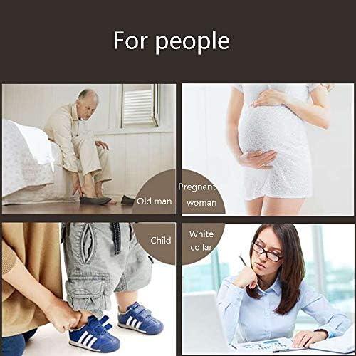 靴べら ポータブルロングハンドルプラスチック靴べらは、妊婦や高齢者に適した懸濁させることができます さまざまなスタイルに適用可能 (Color : Black, Size : 70x4cm)
