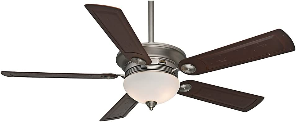 "B003FDB6ZW Casablanca 59062 Whitman 54"" Antique Pewter Ceiling Fan with Five Rosewood Blades and a Light Kit 51kxsMgCOcL.SL1000_"
