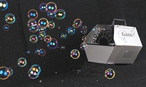 HQ Power Bubble Machine 25W Macchina per Bolle Argento 1 L