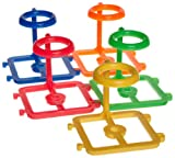 Heathrow Scientific HD23052 Polypropylene 1-Well Interlocking Rack Assorted Colors Set for 50mL Tubes