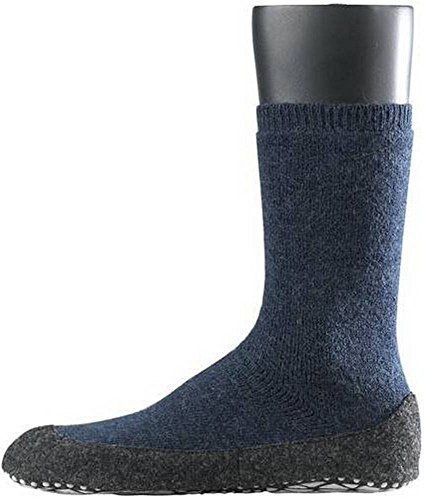 Dark Blue Cosyshoe Midcalf Socks by Falke - Small