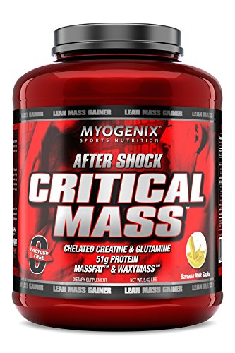 Myogenix Aftershock Critical Mass Milkshake 5.62 Lbs