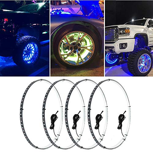 Best wheel ring lights for jeep list