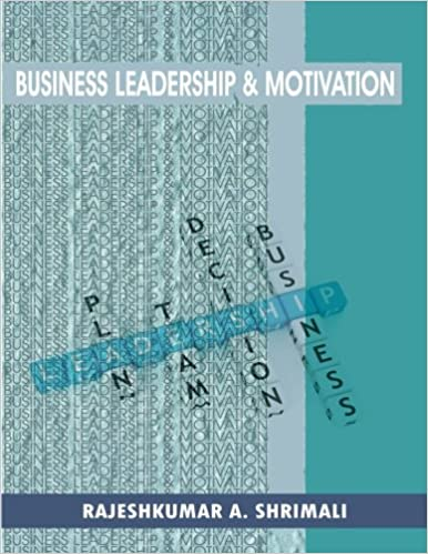 Book Business leadership and motivation
