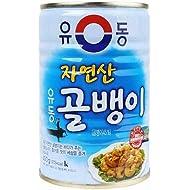 YooDong Korean Canned Bai Top Shell/ Cockle 유동 골뱅이/왕꼬막 9.87oz, 1 Can (골뱅이 Bai Top Shell)