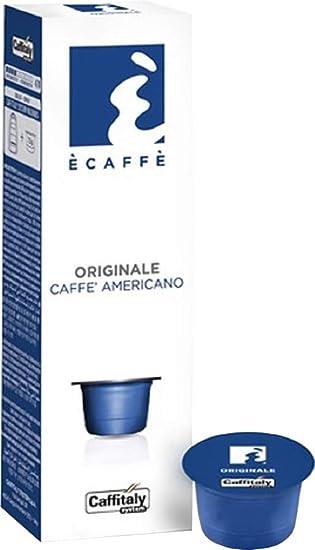 Amazon.com: Caffitaly Americano Cápsulas de Café, 10 ...