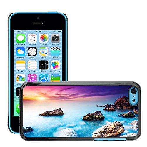 Premio Sottile Slim Cassa Custodia Case Cover Shell // V00002105 Mer // Apple iPhone 5C