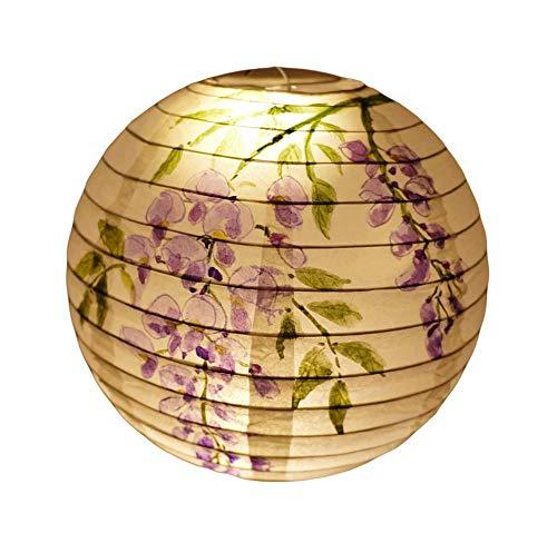 [Wisteria Flower] Chinese/Japanese Style Hanging Lantern Decorative Paper Lantern 16