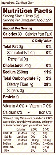 Bob's Red Mill Gluten Free Xanthan Gum, 5 Pounds by Bob's Red Mill (Image #1)