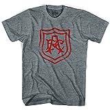Ultras Arsenal Vintage AFC Crest Soccer T-Shirt, Athletic Grey, Adult Large