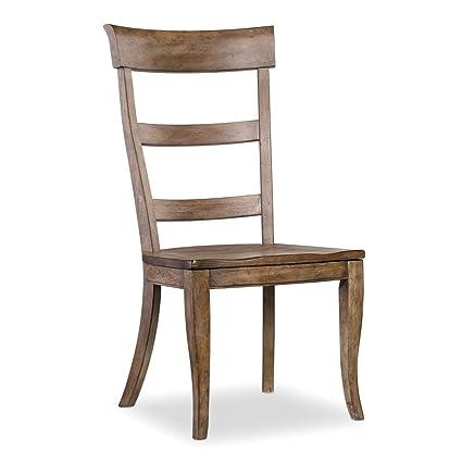amazon com hooker furniture sorella ladderback side chair chairs
