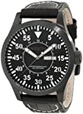 Invicta Men's 11206 Specialty Black Dial Black Leather Watch, Watch Central