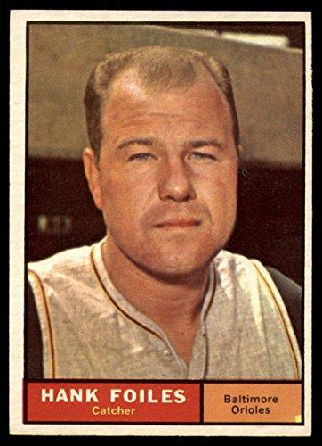 (Baseball MLB 1961 Topps #277 Hank Foiles EX/NM Orioles)